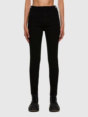 Slandy High 069EF, Black/Dark grey - Jeans