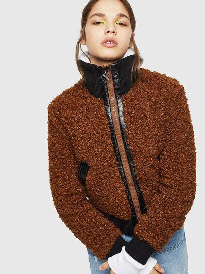 Diesel - L-TOSHA,  - Leather jackets - Image 6