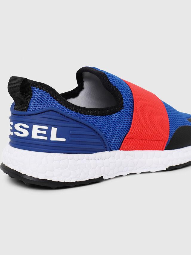 Diesel - SN SLIP ON 16 ELASTI, Blue/Red - Footwear - Image 4