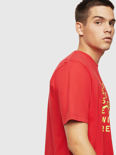 Diesel - T-JUST-J5, Red - T-Shirts - Image 4