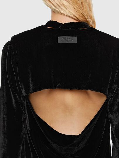 Diesel - D-LABIN, Black - Dresses - Image 3