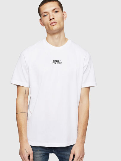 Diesel - T-JUST-A8, White - T-Shirts - Image 1