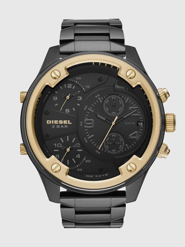 Diesel - DZ7418, Black/Gold - Timeframes - Image 1