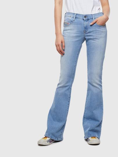 Diesel - D-Ebbey 0095D, Light Blue - Jeans - Image 1