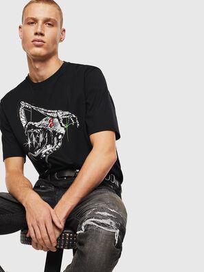 T-JUST-J15, Black - T-Shirts
