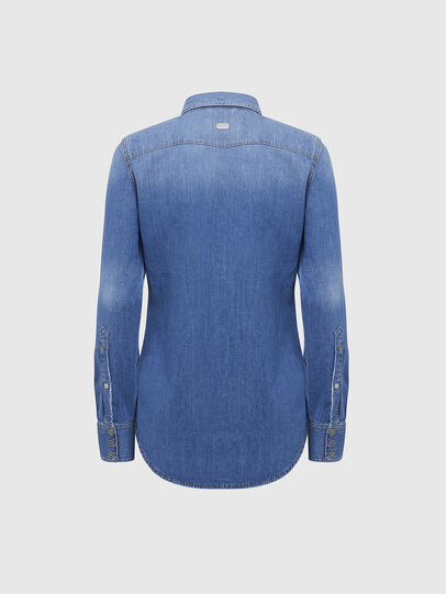 Diesel - DE-RINGY, Light Blue - Denim Shirts - Image 2