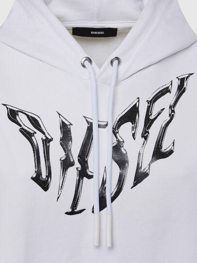 Diesel - F-ANG-HOOD-K21, White - Sweaters - Image 3