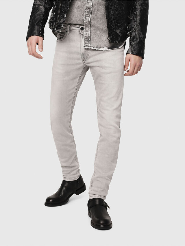 Diesel - Thommer 0684I, Light Grey - Jeans - Image 1