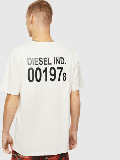 Diesel - T-JUST-VINT, White - T-Shirts - Image 2