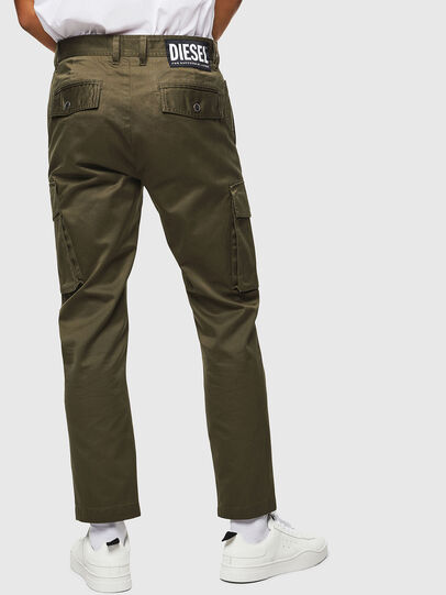 Diesel - P-JARED-CARGO, Green - Pants - Image 2