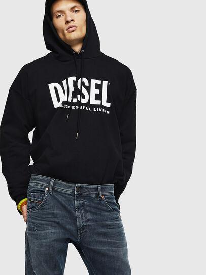 Diesel - Krooley JoggJeans 0870W, Medium blue - Jeans - Image 4