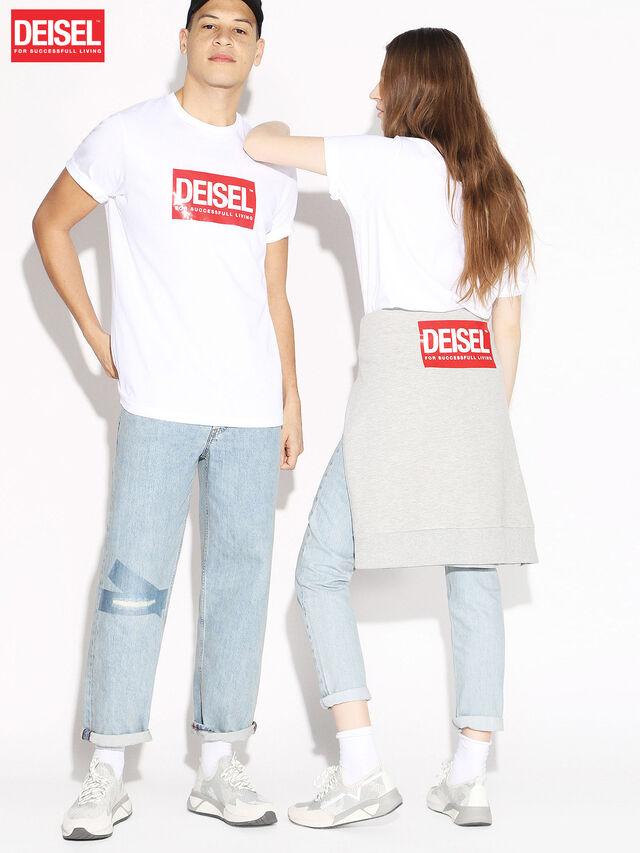 Diesel - DEIS-JUST, White - T-Shirts - Image 1