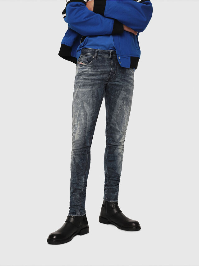 Diesel - Sleenker 069DH, Medium blue - Jeans - Image 1