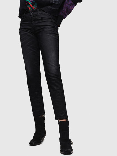 Diesel - D-Rifty 0091I, Black/Dark grey - Jeans - Image 1