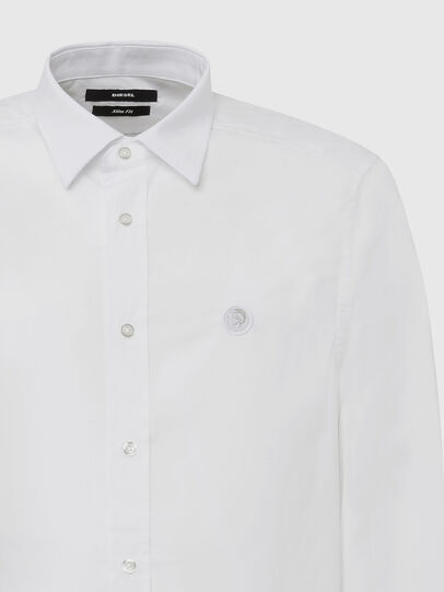 Diesel - S-BILL, White - Shirts - Image 3