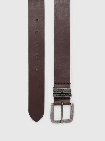 Diesel - B-BAC, Dark Brown - Belts - Image 3