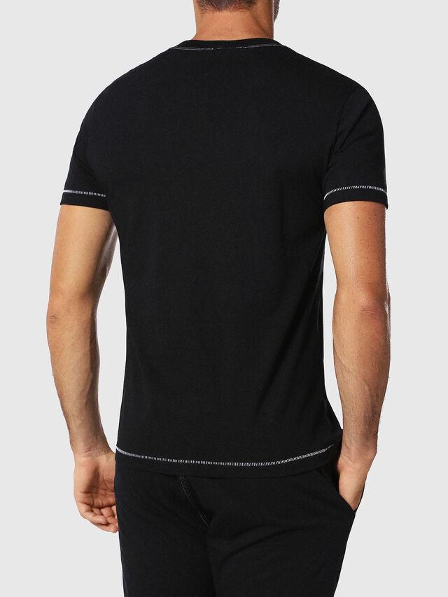 Diesel UMLT-JAKE, Black - T-Shirts - Image 2