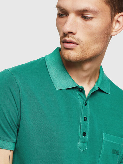 Diesel - T-KAL-2, Green - Polos - Image 3