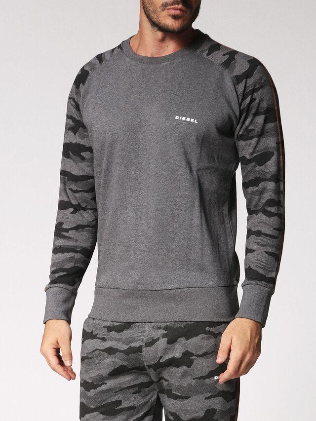 Diesel - UMLT-CASEY, Grey - Sweaters - Image 1