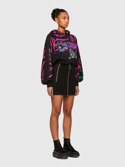 Diesel - F-BIORG, Black/Pink - Sweaters - Image 5