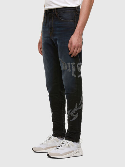 Diesel - D-VIDER JoggJeans® 009HE, Dark Blue - Jeans - Image 6