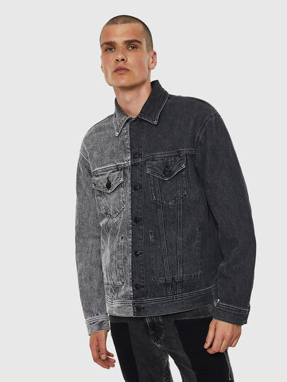 Diesel - D-POLL,  - Denim Jackets - Image 1