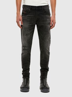 D-Strukt 069RC, Black/Dark grey - Jeans