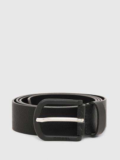 Diesel - B-SPIGA, Black - Belts - Image 1
