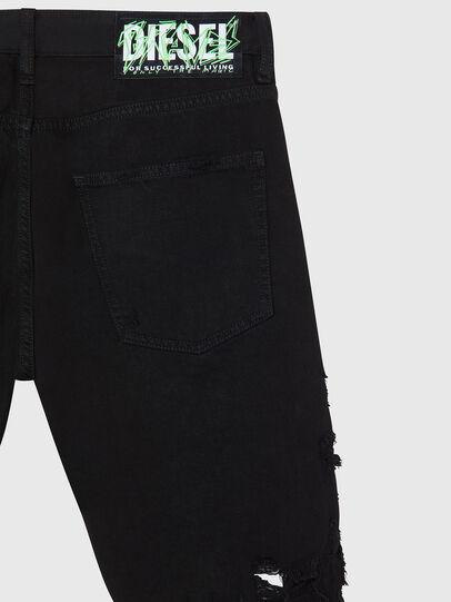 Diesel - D-KRASY, Black - Shorts - Image 4