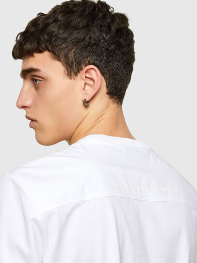 Diesel - T-WORKAN, White - T-Shirts - Image 4