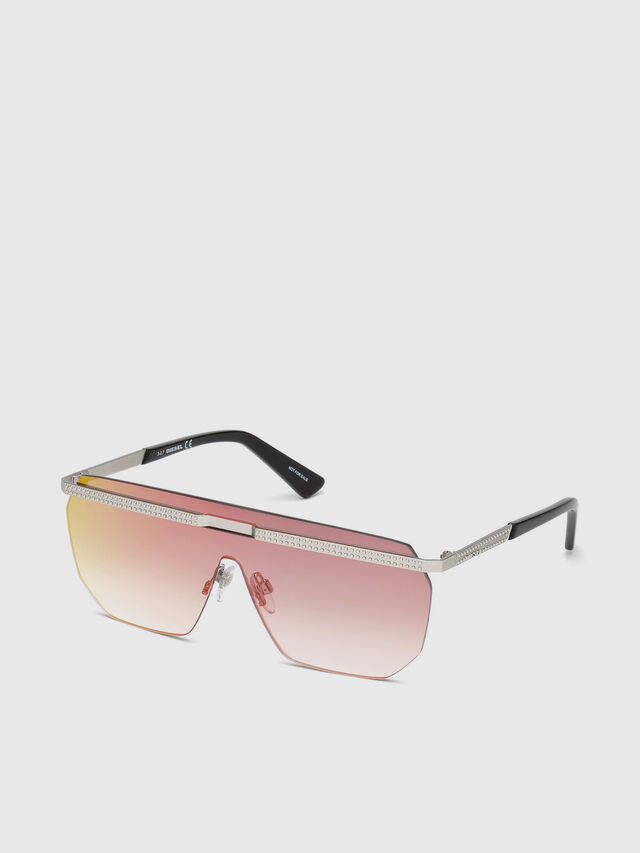 Diesel DL0259, Pink - Eyewear - Image 2
