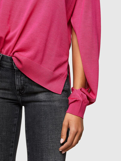 Diesel - M-JADE, Hot pink - Knitwear - Image 4