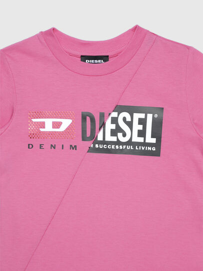 Diesel - TDIEGOCUTYB-FL ML-R, Pink - T-shirts and Tops - Image 3
