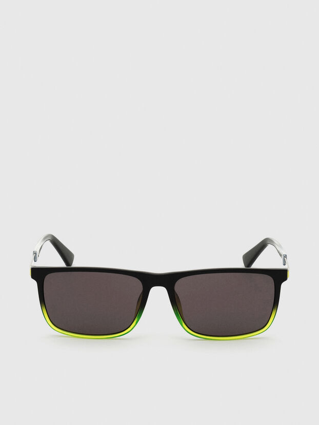 DL0312, Black/Yellow - Sunglasses