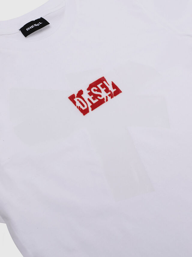 Diesel - TDIEGOSX, White - T-shirts and Tops - Image 3