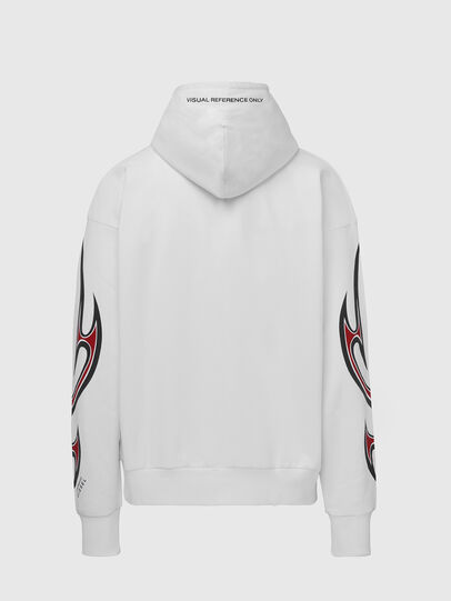 Diesel - S-ALBY-X6, White - Sweaters - Image 2
