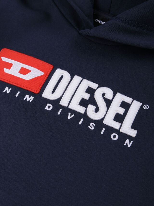 Diesel - SDIVISION OVER, Night Blue - Sweaters - Image 3