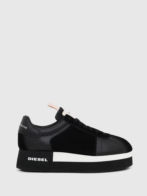 S-PYAVE WEDGE, Black - Sneakers