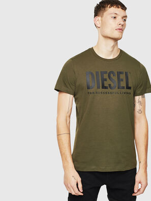T-DIEGO-LOGO, Military Green - T-Shirts