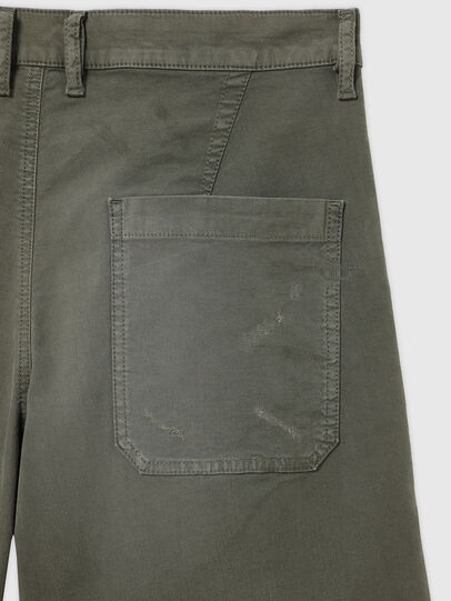 Diesel - D-AZERR-SHORT JOGGJEANS, Military Green - Shorts - Image 3