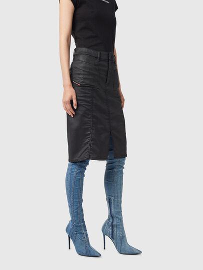 Diesel - D-PAU-SP JOGGJEANS, Black - Skirts - Image 5