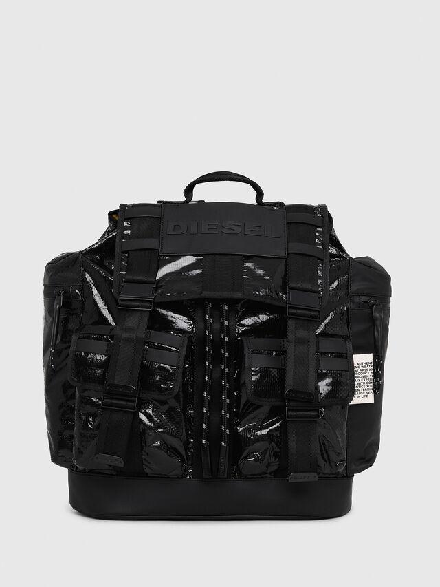 Diesel - M-CAGE BACK, Black - Backpacks - Image 1
