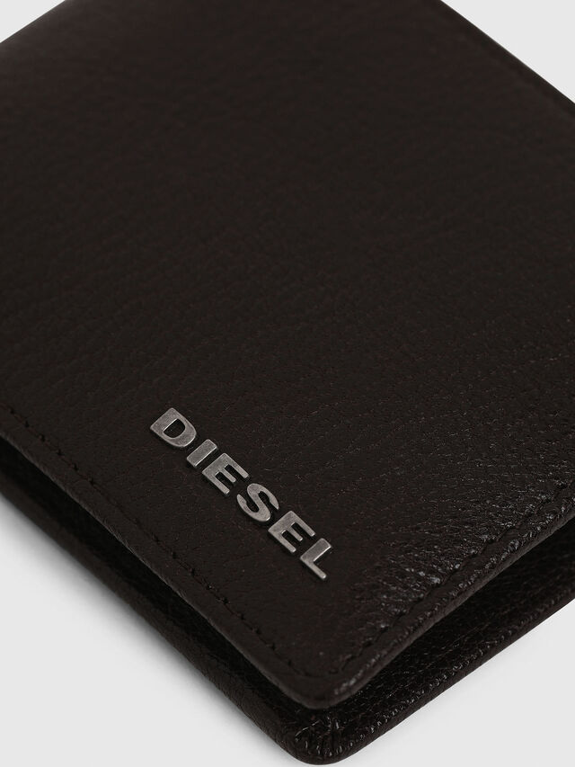 Diesel - HIRESH XS, Brown - Small Wallets - Image 5