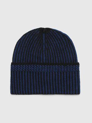 K-MANNYS, Black/Blue - Knit caps