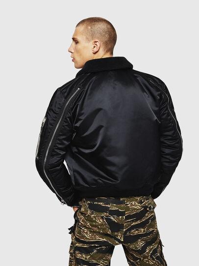 Diesel - W-FEDOVIK, Black - Winter Jackets - Image 2