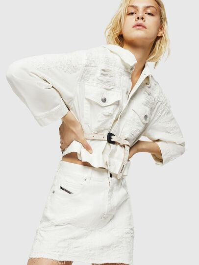 Diesel - DE-JODY, White - Skirts - Image 4