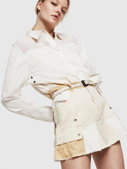Diesel - O-AMATA-A, Cream - Skirts - Image 4