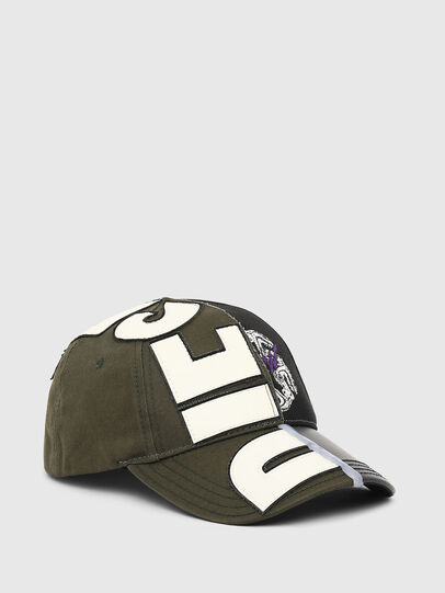 Diesel - CI-HALF, Military Green - Caps, Hats and Gloves - Image 1