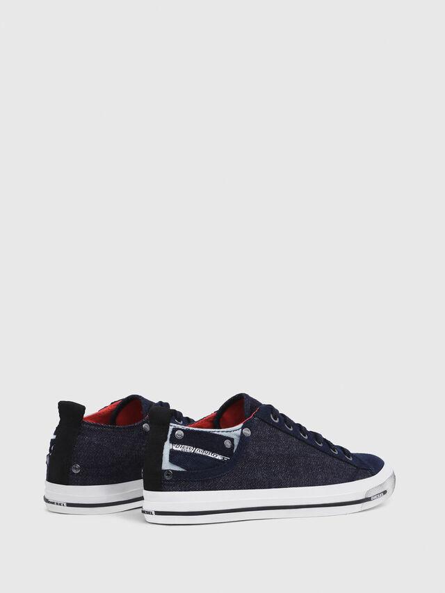 Diesel - EXPOSURE IV LOW  W, Dark Blue - Sneakers - Image 3
