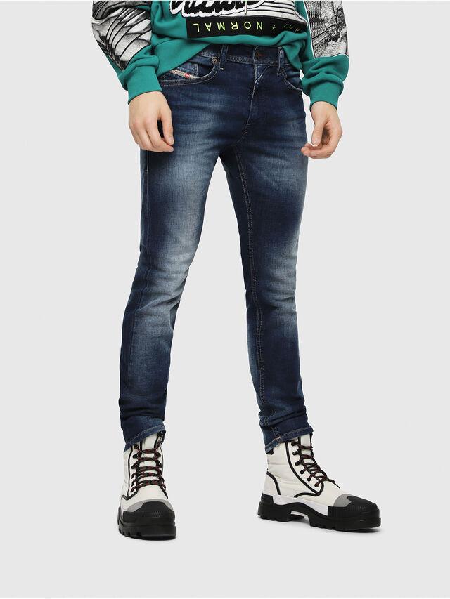 Diesel - Thommer 084GR, Dark Blue - Jeans - Image 1